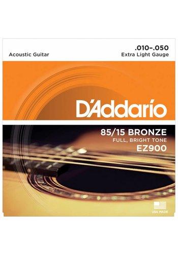 D'addario D'Addario EZ900 85/15 Bronze Extra Light .010-.050