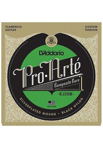 D'addario D'Addario EJ25B Pro Arte Black Nylon Composite Flamenco