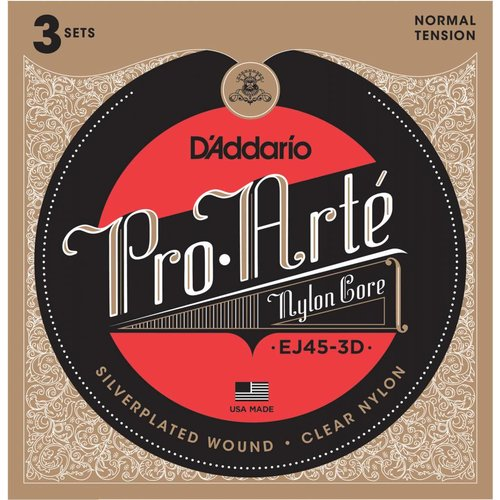 D'addario D'Addario EJ45-3D Normal Tension 3 Sets