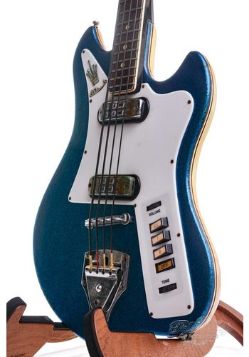Welson Welson Shortscale Bass 1962 Blue Sparkle