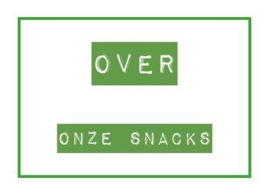 Over onze snacks