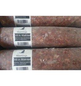 Meat4Dogs Meat4Dogs Makreel 1 kilo