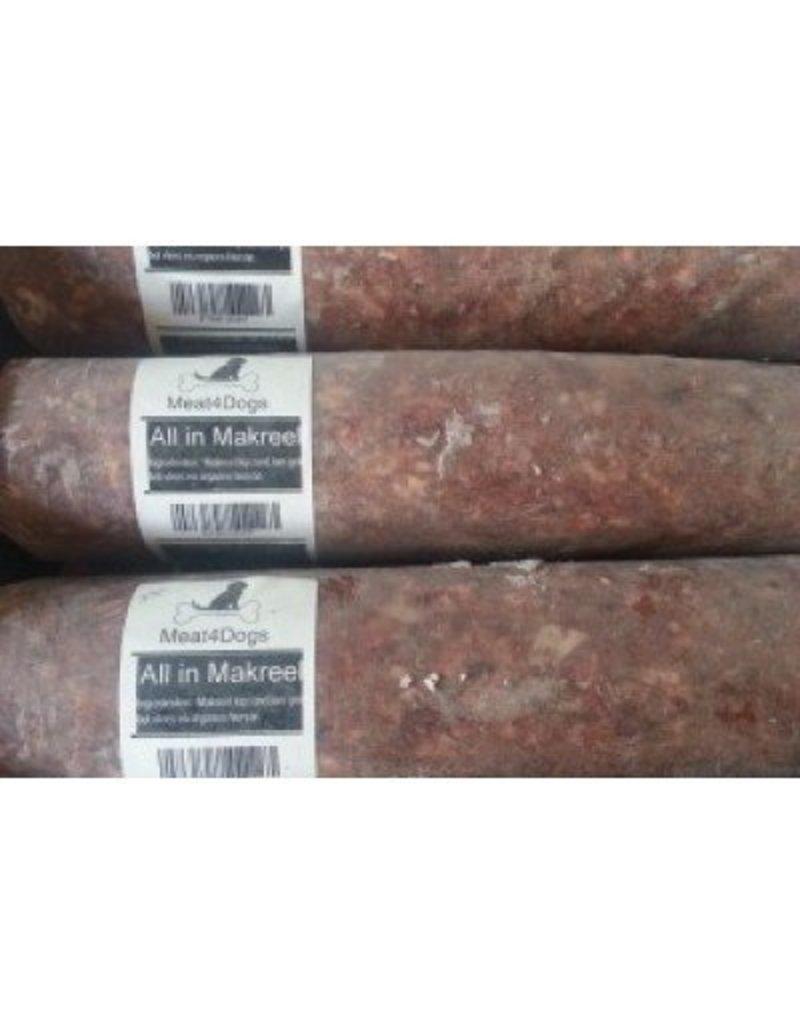 Meat4Dogs Meat4Dogs Makreel 16 x 1 kilo