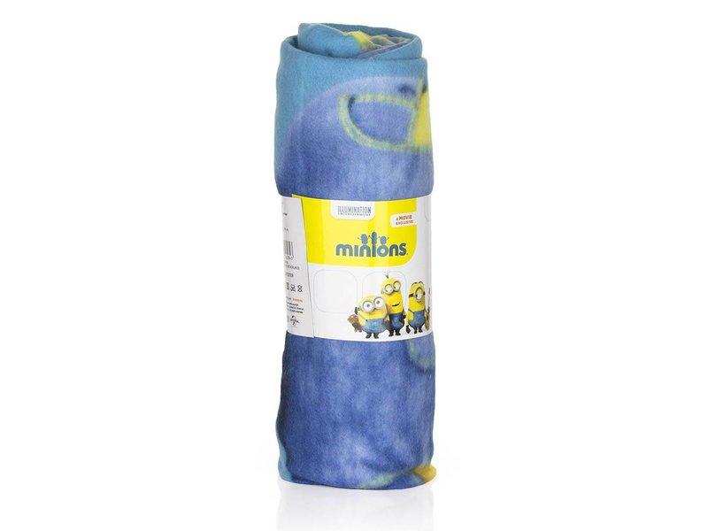Universal Fleecedeken Minions blauw