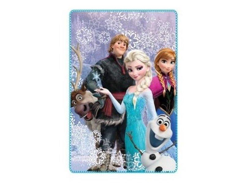 Disney Fleecedeken Frozen Anna & Elsa