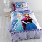 Disney Dekbedovertrek Frozen paars