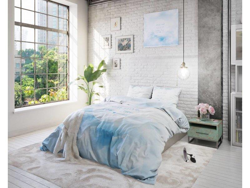 Sleeptime Dekbedovertrek dromen blauw