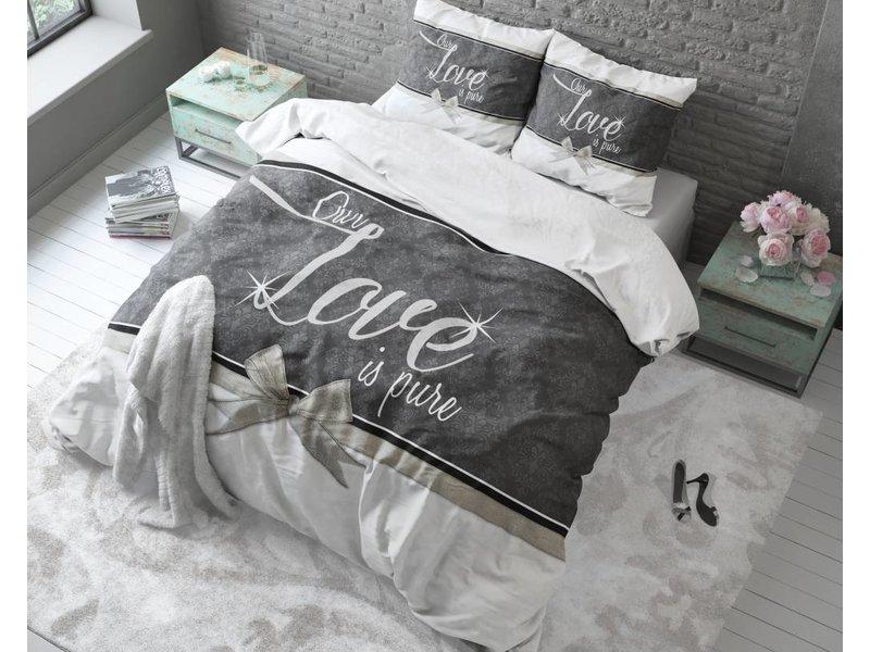 Sleeptime Dekbedovertrek liefde wit