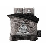 Sleeptime Dekbedovertrek Boeddha antraciet