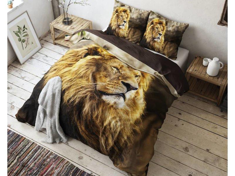 Sleeptime Dekbedovertrek leeuw bruin