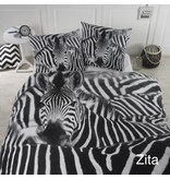 Papillon Dekbedovertrek zebra 'Zita'