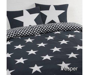 Dekbedovertrek Stars blue