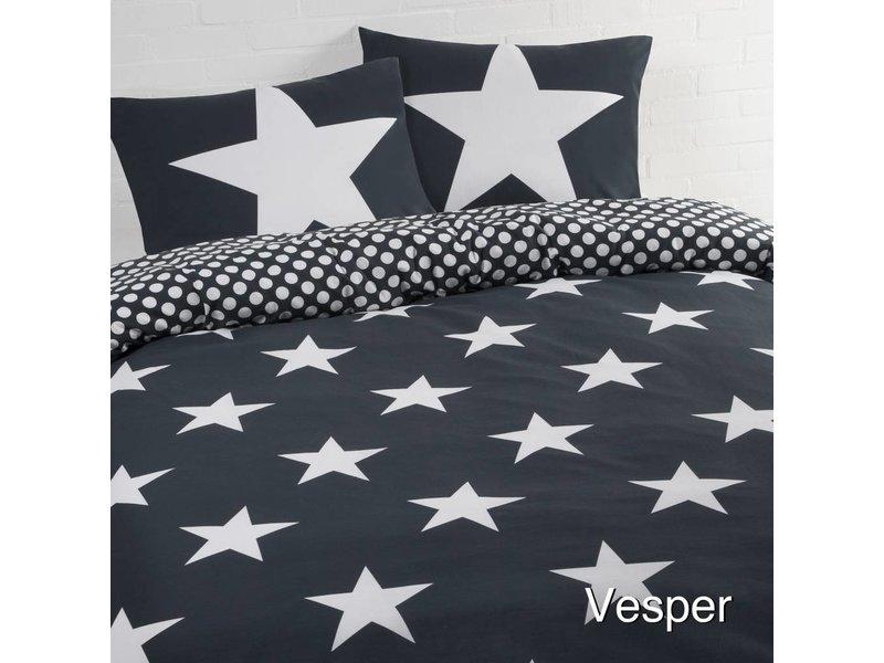 Day Dream Dekbedovertrek Stars blue
