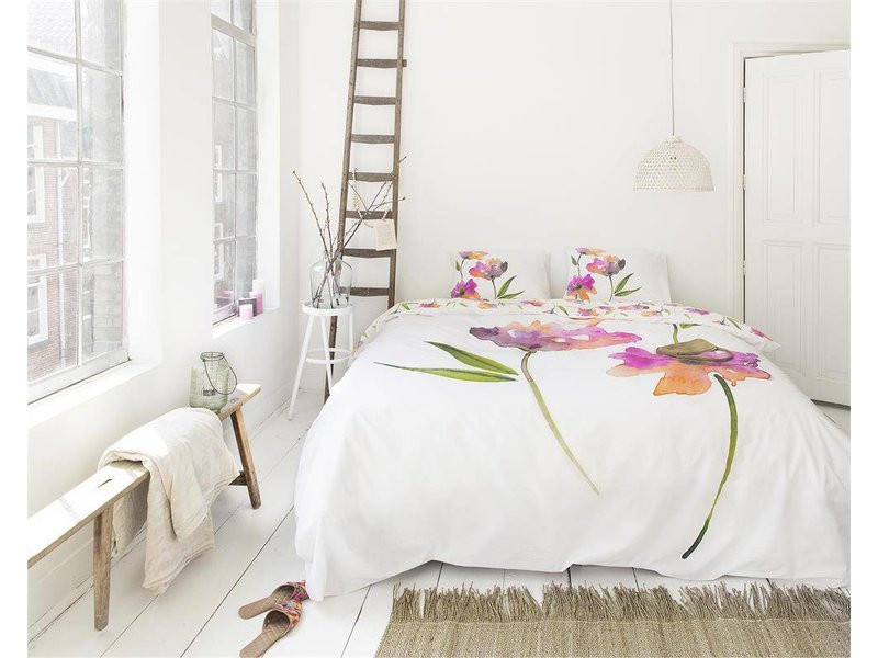 Dreamhouse Bedding Dekbedovertrek Arinde white