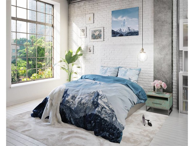 Sleeptime Dekbedovertrek Sky Buddha Blue