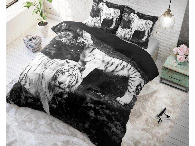 Sleeptime Dekbedovertrek tijger grijs