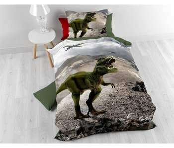 Dekbedovertrek Dinosaurus Green