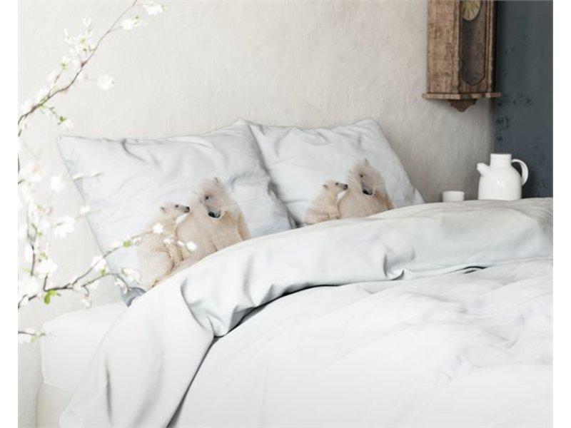 Sleeptime Dekbedovertrek Ijsbeer Wit