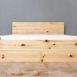woodboom Bett mit zwei Schubladen