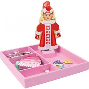 Small foot Houten kleding box prinses