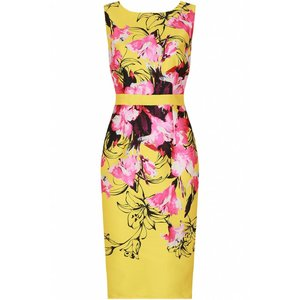 Floral Dress Yellow