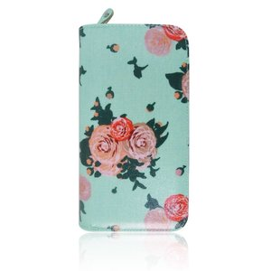 Blossom Flower Purse Turquoise