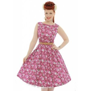 Lindy Bop: 'Audrey' Tea and Biscuits Swing Dress