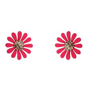 Collectif; Dazzling Daisy Stud Earrings
