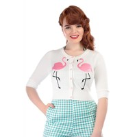 Collectif: Mainline Lucy Cardigan 'FLAMINGO'