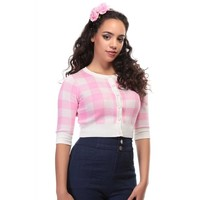 Collectif: Mainline Lucy Cardigan 'GINGHAM'