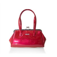 Collectif: Retro Patent Kiss Lock Bag