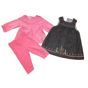 Cutey Couture: Tuniek, Top en Leggings (6-24 mnd)
