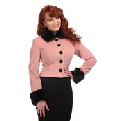 Collectif: Mainline Marianne Pink Jacket