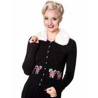 Banned: Aria Christmas Candy Cardigan