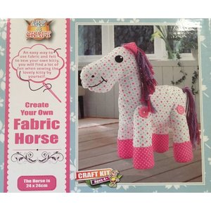 Art&Craft: Create Your Own Fabric Horse, 6-12 jaar
