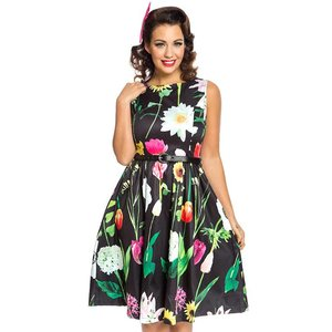 Lindy Bop:  'Audrey' Wild Garden Swing Dress