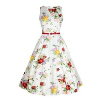 Lady Vintage: Hepburn Dress 'Vintage Roses'