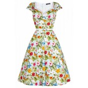Lady Vintage: Isabelle Dress 'Summer Floral'