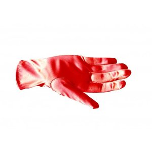Collectif: Red Satin Gloves