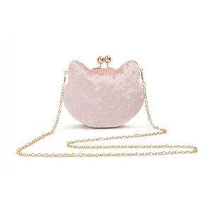 Collectif: LULU HUN Velvet Cat Bag 'LUCY'