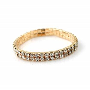 Rose Gold Strass Bracelet