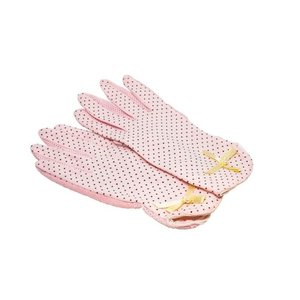 Collecif: Pink Polka Gloves