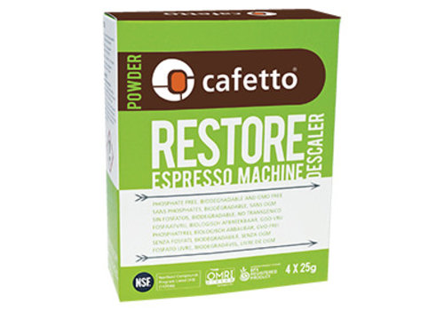 *Restore Descaler (carton: 12 x (4 x 25gr)/box)