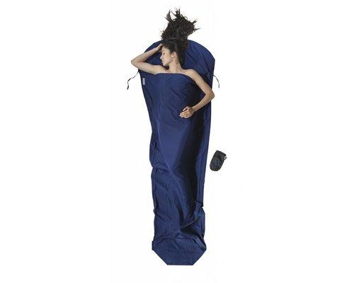 Cocoon Mummy Liner, microfiber, blue