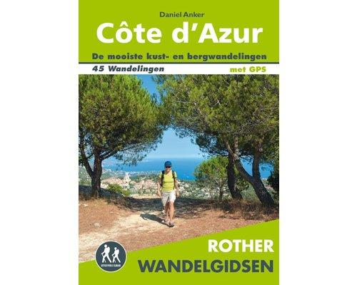 Rother Wandelgids Côte D 'Azur