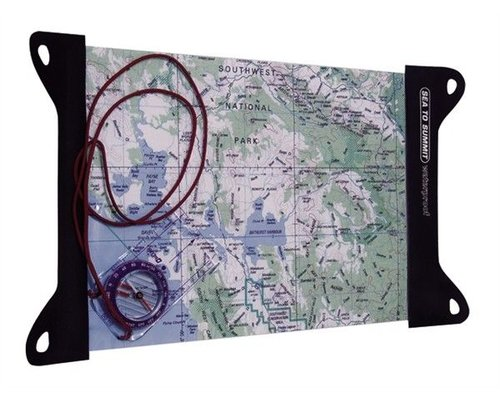 Sea to Summit Guide TPU Map Case 4