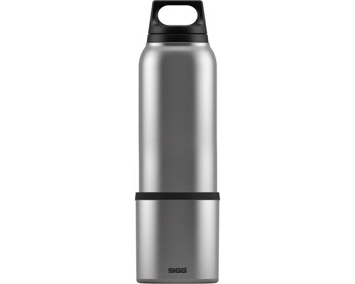 SIGG Hot and Cold brushed 1.0L zilver