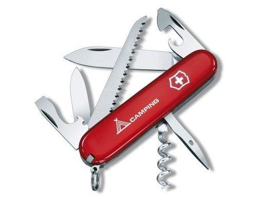 Victorinox Zakmes, SwissArmy, Camper, rood