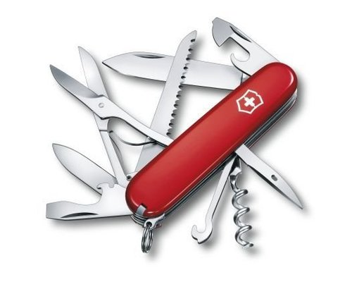 Victorinox Zakmes, SwissArmy, Huntsman, rood