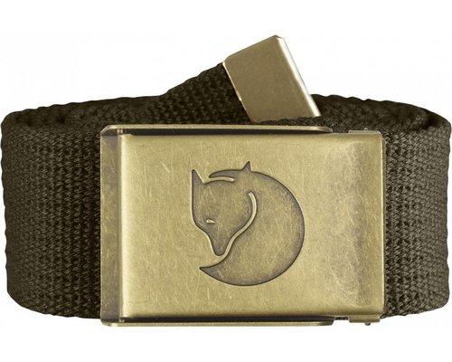 Fjallraven Fjällräven Canvas Brass Belt 4 cm